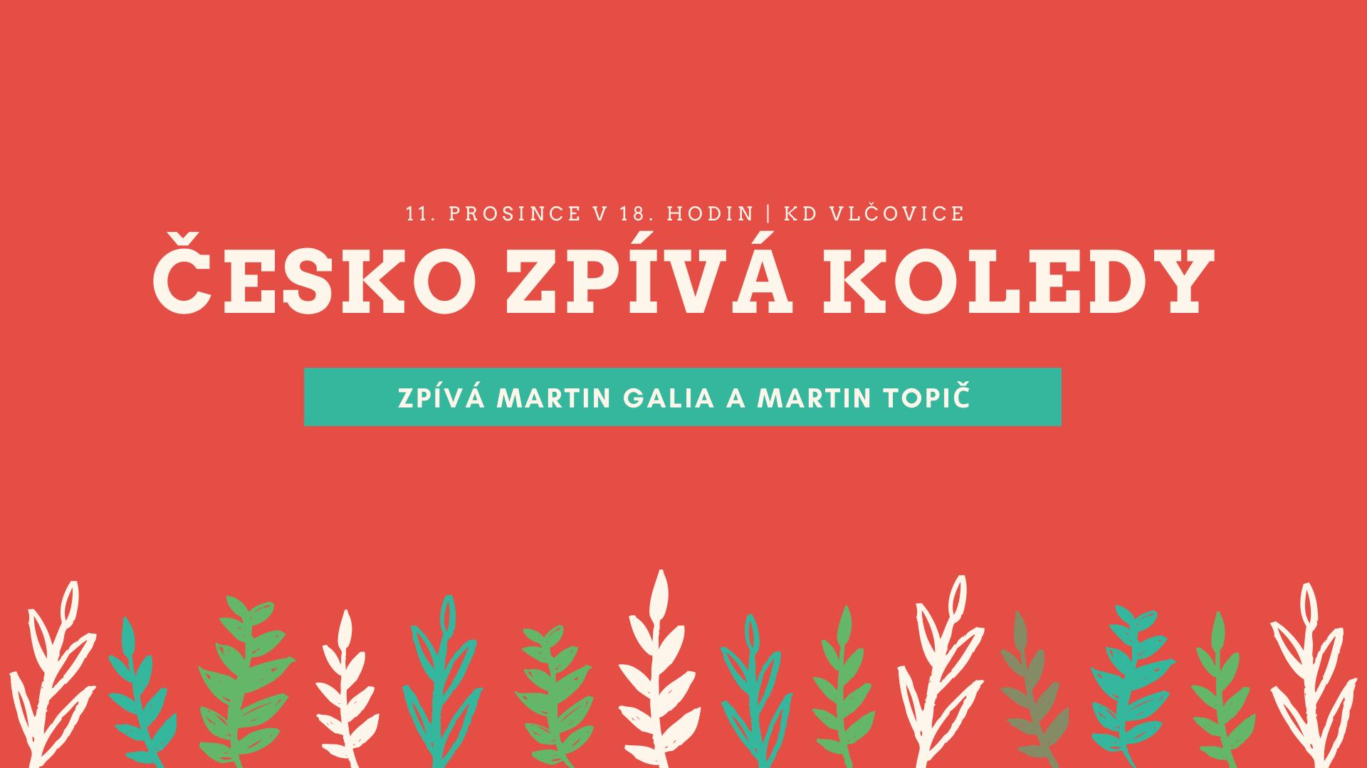 Česko zpívá koledy Vlčovice