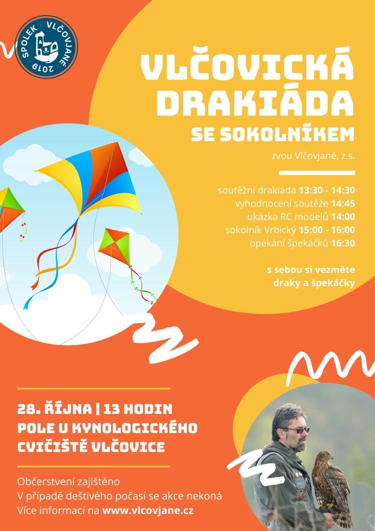 Vlčovická drakiáda 2021 - Vlčovjané z.s.